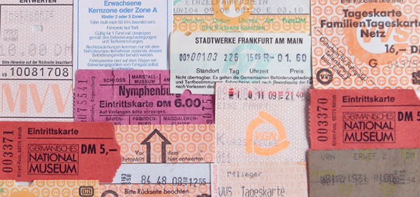 新幹線などの回数券